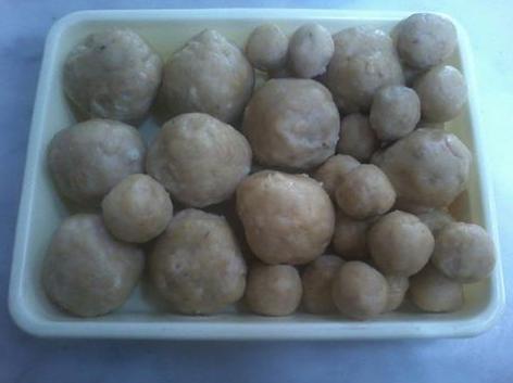 cara membuat bakso tempe isi telur