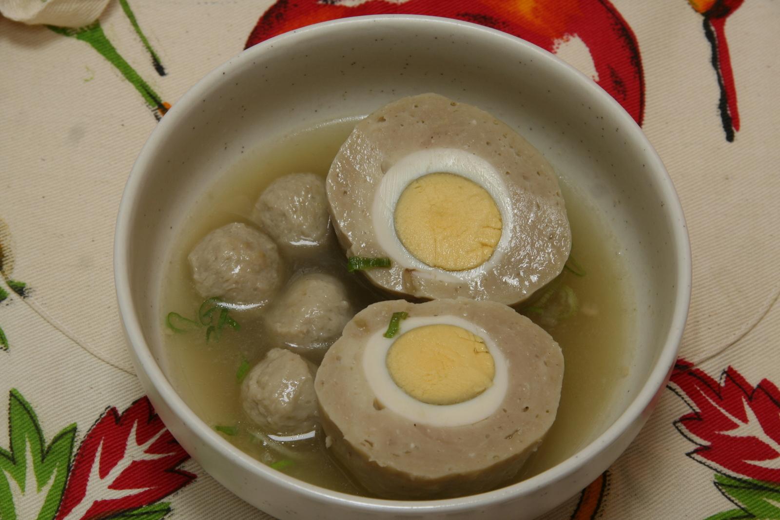 cara membuat bakso telur